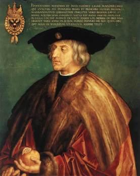 Emperor Maximillion I, Durer (1519)