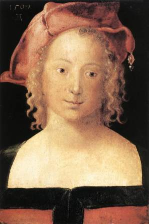 Young Girl, Durer (1507)