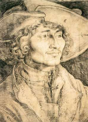 Durer Portrait of a Young Man - 1521