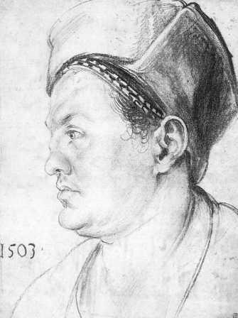 WillibaldPirckheimer, Durer (1503)