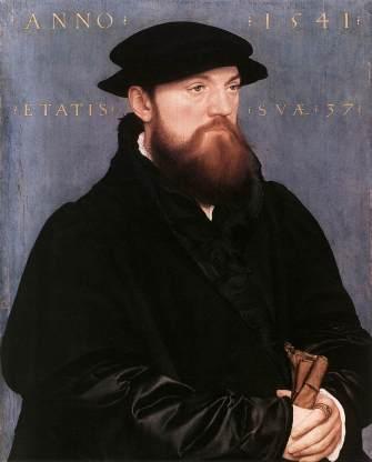Holbein - De Vos van Steenwijk - 1541