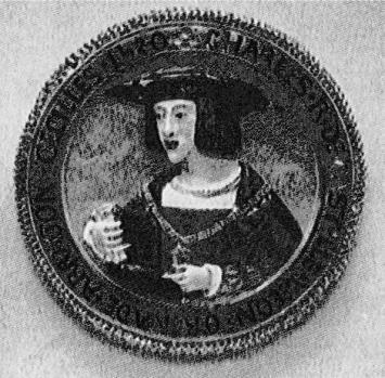 Hat Medallion of Emperor Charles V (1520)